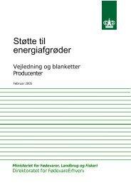 Støtte til energiafgrøder - LandbrugsInfo