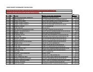 larue county delinquent tax bills 2011 - Larue County Clerk