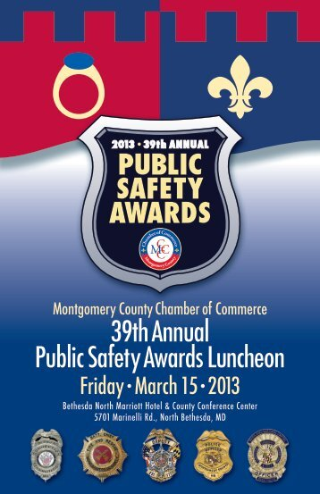39th Annual Public Safety Awards program - Montgomery County ...