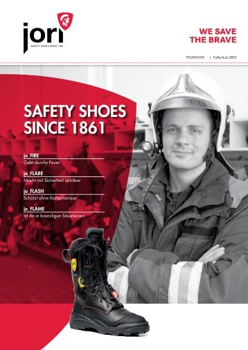 saFety shoes since 1861 - Jori