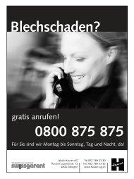 gratis anrufen! - TV Zofingen