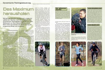 Das Maximum herausholen Das Maximum herausholen - Fit for Life