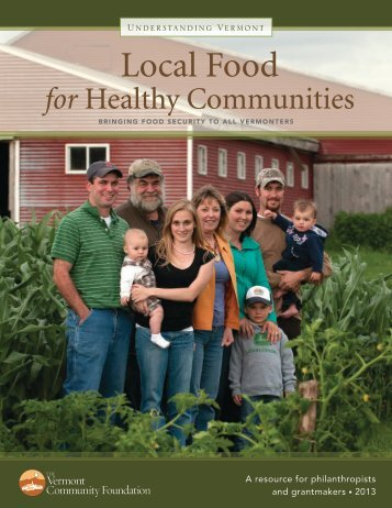 Local Food for Healthy Communities - Vermont Community ...