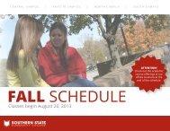 Fall Semester 2013