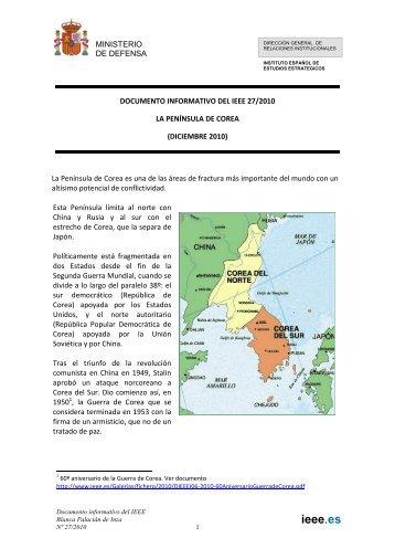 La Península de Corea - IEEE