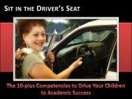 SIT IN THE DRIVER'S SEAT - drlourdes.net