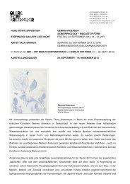 neue künstlerposition gemma anderson isomorphology – riddles of ...