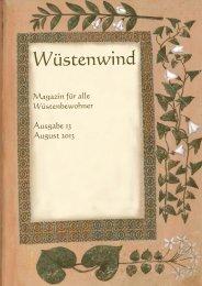 Ausgabe 13, August 2013 - Walpurgis-Verlag