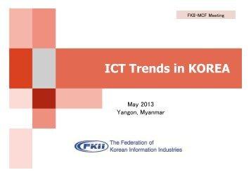 ICT Trends in KOREA