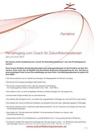 Übersicht download - Institut für Zukunftskompetenzen