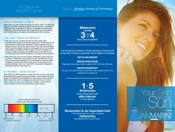 Jan Marrini Sunscreen - Skin Care Products Blog