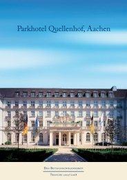Parkhotel Quellenhof, Aachen - Die FUNDUS-Gruppe