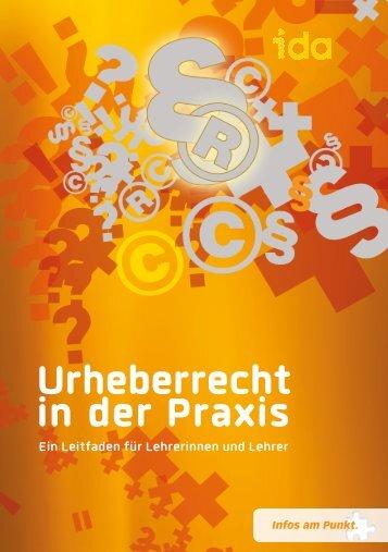 """Broschüre """"Urheberrecht in der Praxis"""" - Katechetisches Amt"""