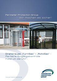 Drehkreuze_TurnSec_RotoSec web - Perimeter Protection Group