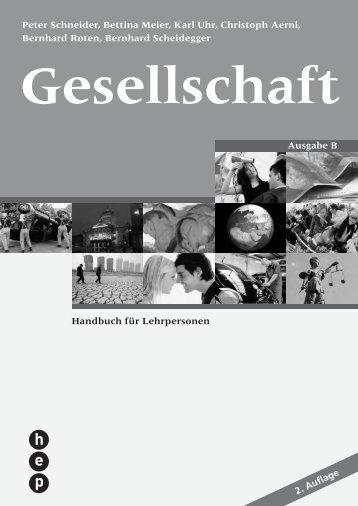 Handbuch für Lehrpersonen Peter Schneider, Bettina Meier, Karl ...
