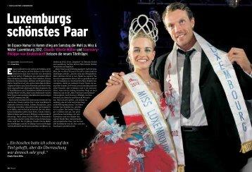 Im Espace Namur in Hamm stieg am Samstag die Wahl zu Miss ...
