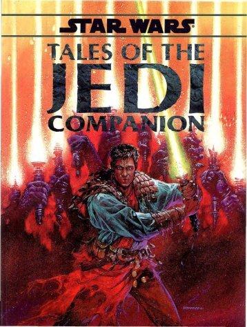 Tales of the Jedi Companion 1996 WEG40082 0 ... - D6Holocron