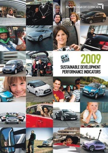 2009 Sustainable Development - Cecodes
