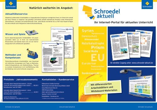 Schroedel aktuell - f.sbzo.de