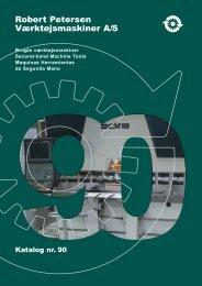 Lagerliste 90 - Robert Petersen Værktøjsmaskiner A/S