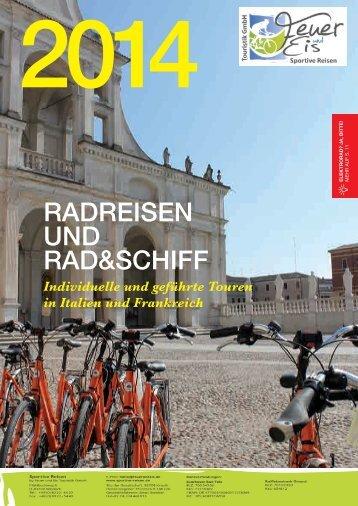 Katalog 2014 herunterladen - italia radreisen