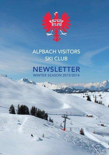 View - Alpbach Visitors Ski Club