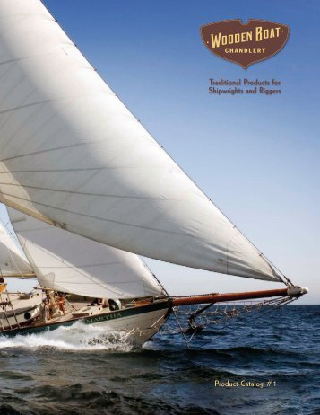 Traditional Products for Shipwrights and Riggers Product Catalog #1