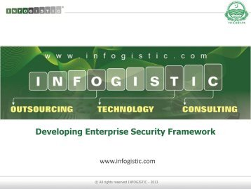 Developing Enterprise Security Frameworks
