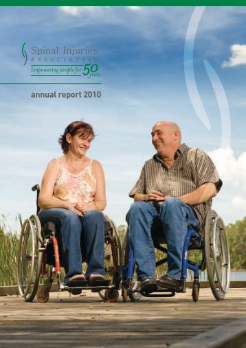 annual report 2010 - Spinal Injuries Association
