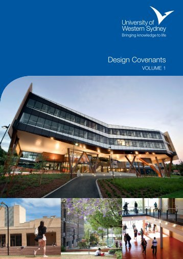 Download the Design Covenants - University of Western Sydney