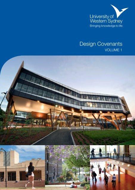 Download the Design Covenants - University of Western Sydney