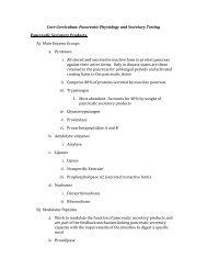 Core Curriculum: Pancreatic Physiology and Secretory Testing ...