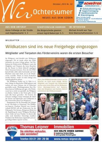 Ausgabe 10/2013 - Wir Ochtersumer