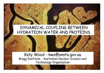 Purple membrane & hydration water
