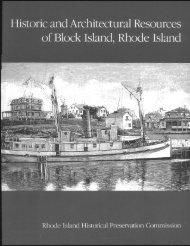 Block Island - Rhode Island Historical Preservation & Heritage ...