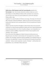 Biographien (pdf) - bei Axel Gremmelspacher