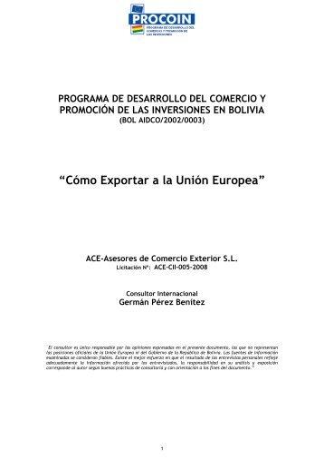 PdT Guía Exportar Europa