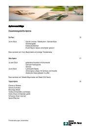 Menuvorschläge - Welcome Hotels & Restaurants