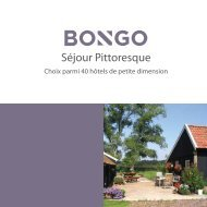 Séjour Pittoresque - Bongo