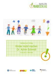 Kinder mobil machen Dr. Achim Schmidt - VRS