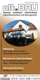 bauen · wohnen · einrichten Dämmung Barrieren im Haus ...