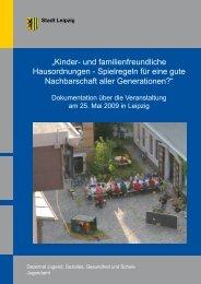 """""""Kinder- und familienfreundliche Hausordnungen - Spielregeln für ..."""