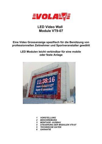 LED Video Wall Module VT9-07 - Vola