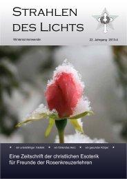 Aktuelle Ausgabe - Strahlen des Lichts