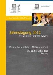 Jahrestagung 2012 - UNESCO Schulen