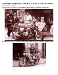 The Resurrection Of The Honda CB 750 K6 - Fouad Hamdan