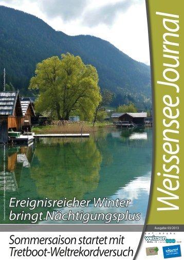 WS-Journal 03/2013 - Weissensee