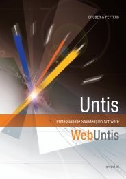 Untis - Lander Software