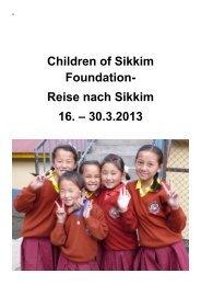 Das Tagebuch von Ruth Oberlin als PDF - Children of Sikkim ...