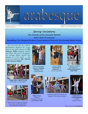 Spring Variations - Sarasota Ballet